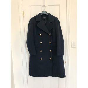 Eloquii Jackets & Coats - ELOQUII Double Breasted Coat — Navy